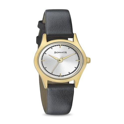 Sonata 87025YL02 Essentials Analog Watch for Women