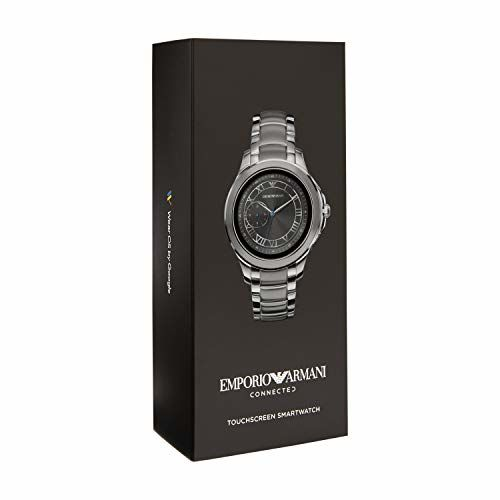 Emporio Armani Alberto Digital Silver Dial Men's Watch-ART5010