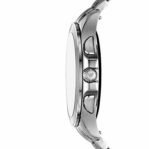 Emporio Armani Alberto Digital Silver Dial Men's Watch-ART5010