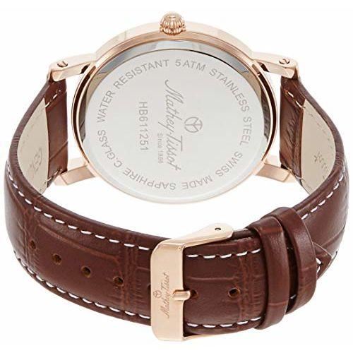 Mathey-Tissot Analog White Dial Men's Watch-HB611251PBR