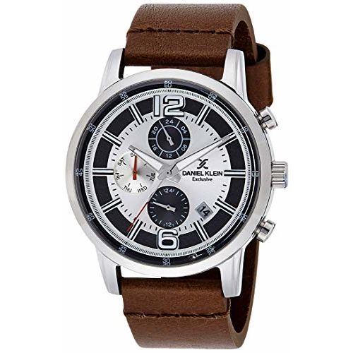 Daniel Klein Analog Silver Dial Men's Watch-DK11749-1
