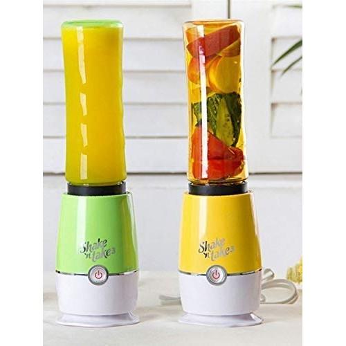 Manvi Mini Juicer Shake n Take Fruit Mixer and Smoothie Maker Multifunction Extractor Blender