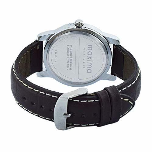 Maxima Analog White Dial Men's Watch-O-52981LMGI