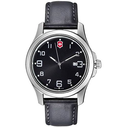 Victorinox Swiss Army Alliance Analog Black Dial Men's Watch-26052.CB