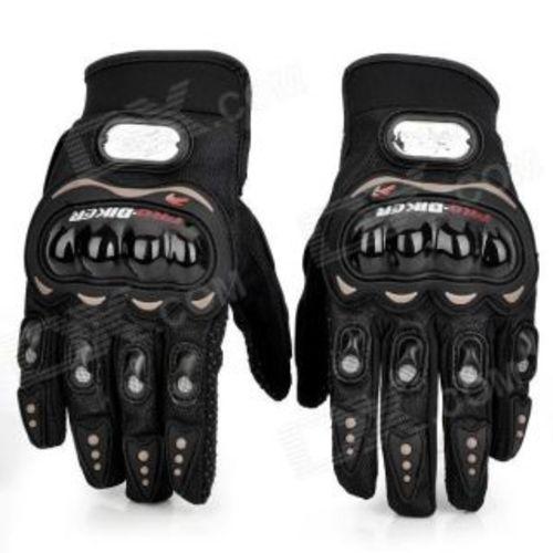 Pro biker Full Finger Gloves In Black Size XL