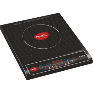 Pigeon Cruise Induction Cooktop(Black, Push Button)