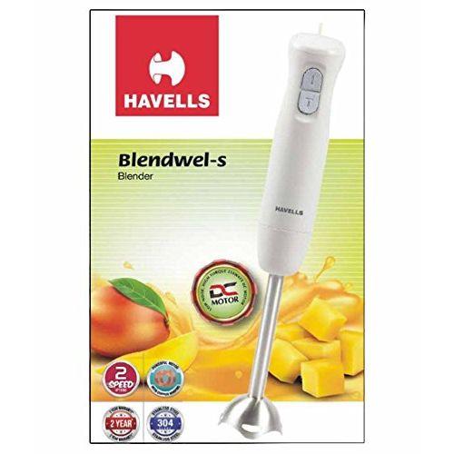 Havells GHFHBBFW025 250 W Hand Blender (White)