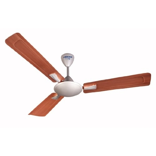 Orient Gratia 48-inch 70-Watt Decorative Ceiling Fan (Copper and Grey)