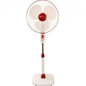 Orient Stand 32 400mm 3 Blade Pedestal Fan(Red, Pink, Pack of 1)