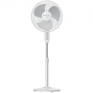 Bajaj Midea BP-2200 400MM 3 Blade Pedestal Fan(White, Pack of 1)