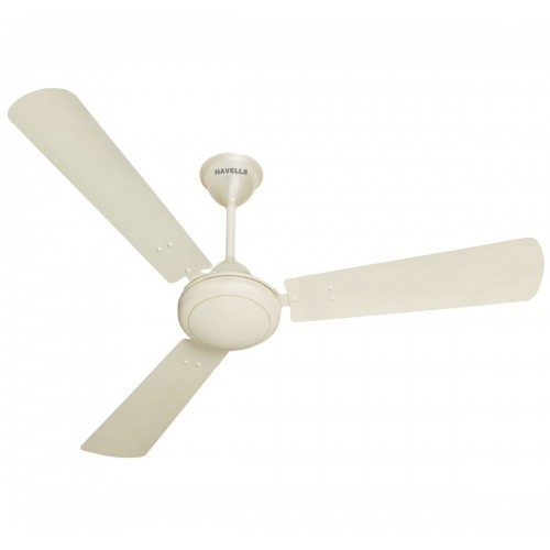 Havells SS-390 900mm 68-Watt Metallic Ceiling Fan (Pearl White and Silver)