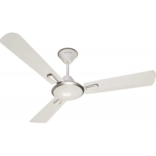 Havells Furia 1200mm Decorative Ceiling Fan (White Silver)