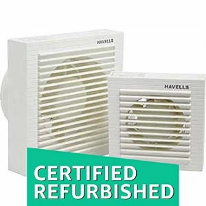 (CERTIFIED REFURBISHED) Havells Ventilair 150mm Exhaust Fan with Window (White)