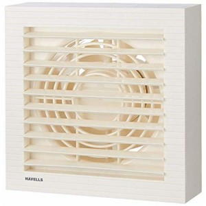 (Certified REFURBISHED) (Certified REFURBISHED) Havells Ventilair 150mm Exhaust Fan with Electronic Shutter (White)