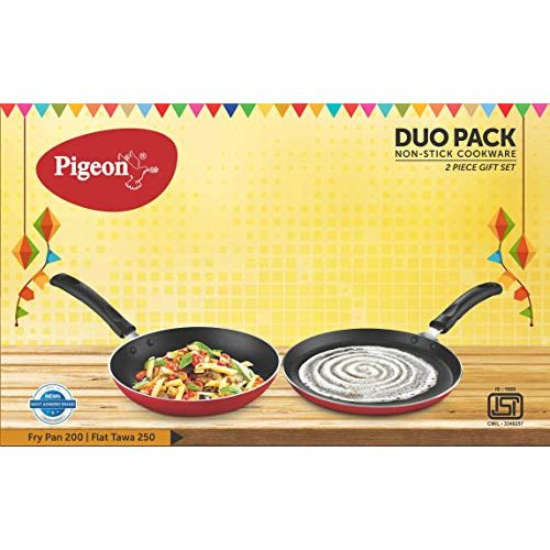 Pigeon Duo Pack Non Stick Cookware 2Pc. Gift Set