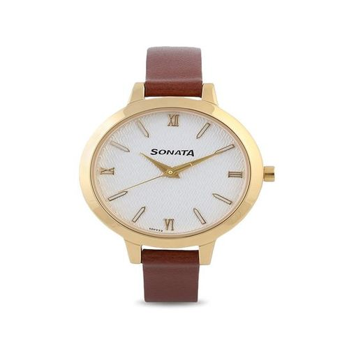 Sonata NK8141YL01 Elite Analog Watch for Women