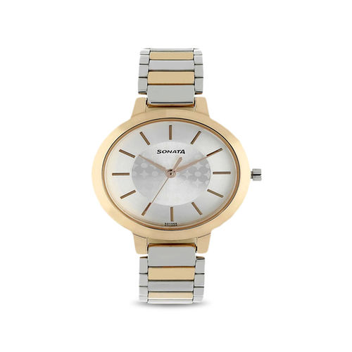 Sonata 8141KM01 Blush Analog Watch for Women