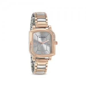 Sonata 87001KM01 Blush Analog Watch for Women