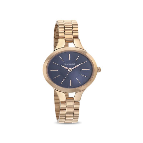 Sonata 8151WM03 Blush Analog Watch for Women