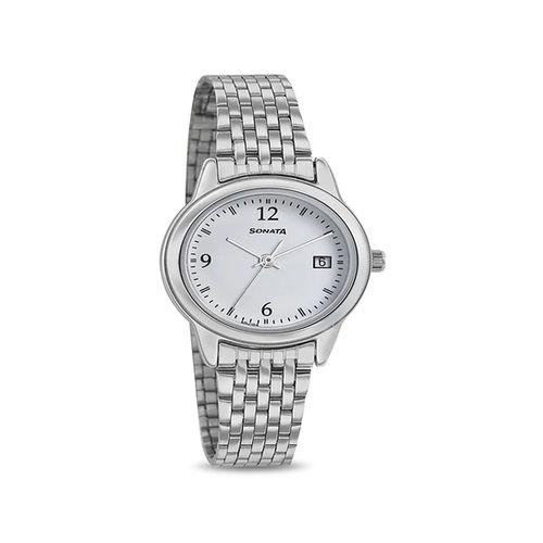 Sonata 8157SM02 Essentials Analog Watch for Women