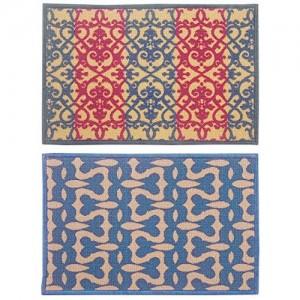 Bianca Splender Abstract 2 Piece Nylon Door Mat - 15