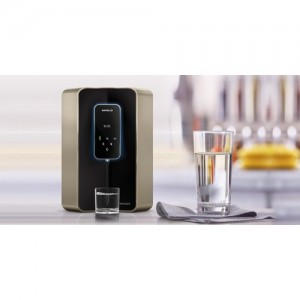 Havells DIGITOUCH 100% RO & UV WITH & pH LEVEL MAINTAINED 7 L RO + UV Water Purifier(Black)