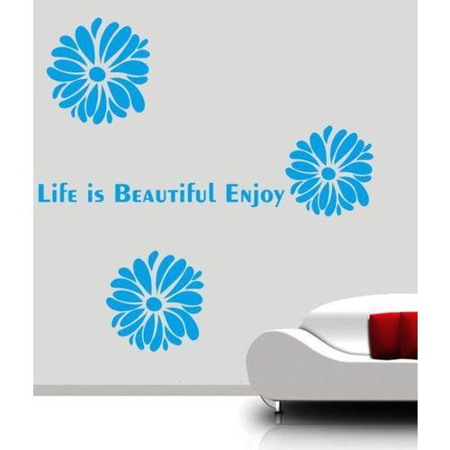 RITZY Floral & Botanical Wallpaper(90 cm X 60 cm)