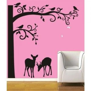 RITZY Animals Wallpaper(60 cm X 90 cm)