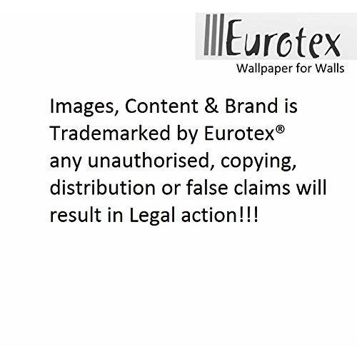 Eurotex Modern Beautiful Vinyl Coated Paper 3D Pattern Wallpaper Roll (Brown)