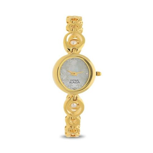 Titan NK2511YM02 Raga Analog Watch for Women