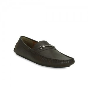 Get Glamr Dark Brown Casual Loafers
