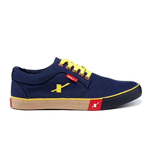 Sparx Navy & Yellow Sneakers