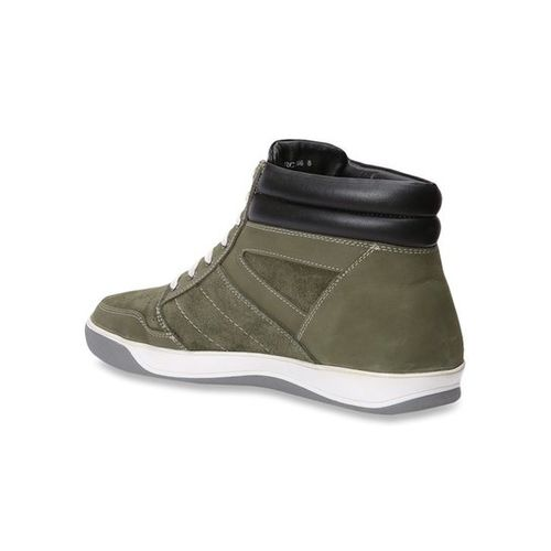 Red Chief Olive Ankle High Sneakers