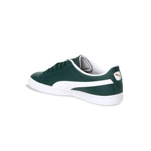 Puma Unisex Green Court Star Vulc FS Sneakers