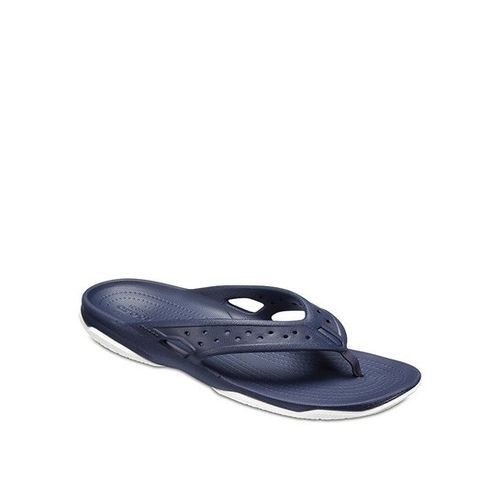 Crocs Swiftwater Deck Navy Thong Sandals