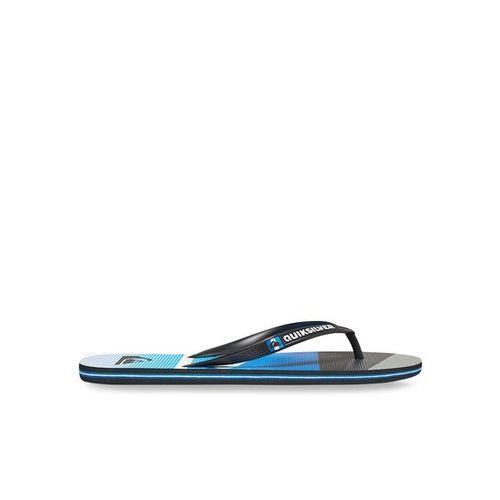 Quiksilver Molokaislashlog Black & Blue Flip Flops