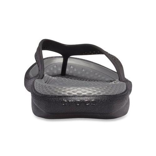 f537d0e91fc9 Buy Crocs Kadee II Graphic Black Flip Flops online