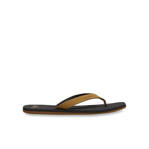 Quiksilver Molokai Laser Tan & Black Flip Flops
