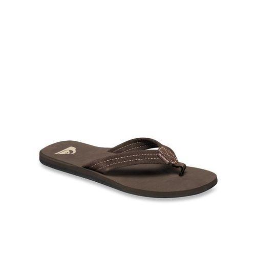 Quiksilver Carver Brown Flip Flops