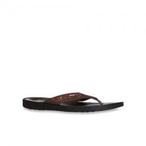 Scholl by Bata Dark Brown Flip Flops