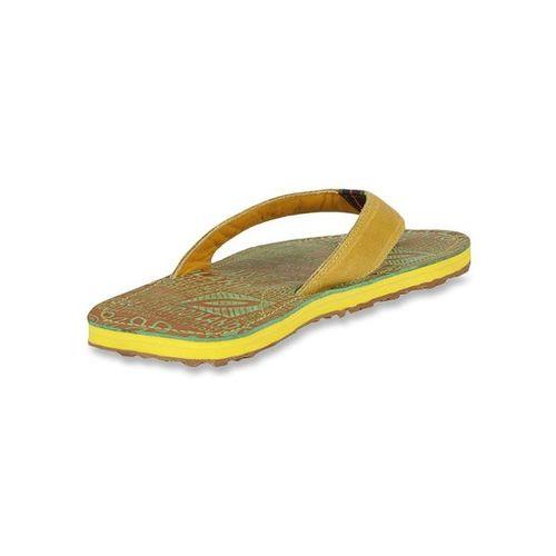 Woodland Snaype & Green Flip Flops