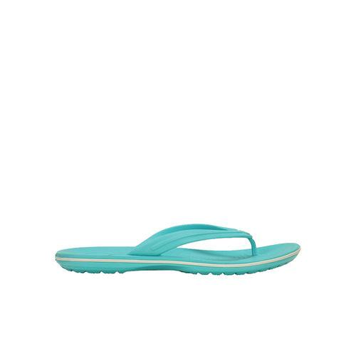 Crocs Crocband Pool & White Flip Flops