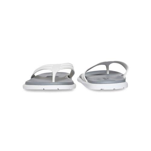 U.S. Polo Assn. US Polo Assn. Latvian White & Grey Flip Flops