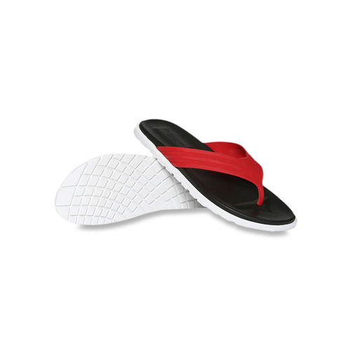 U.S. Polo Assn. US Polo Assn. Latvian Red & Black Flip Flops