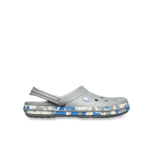 crocs Crocband Graphic III Slate Grey/Blue Jean Marble Unisex Clog (205330-0EQ)