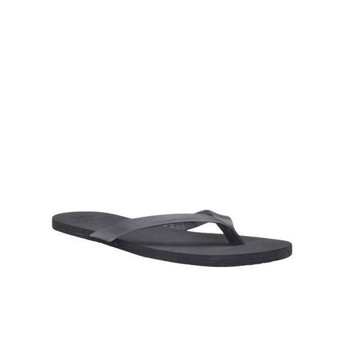 Franco Leone Black Slippers
