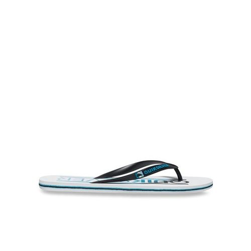 Quiksilver Molokai Wordmar Black & White Flip Flops