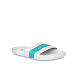 Puma Mercedes MAPM Leadcat White & Green Casual Sandal