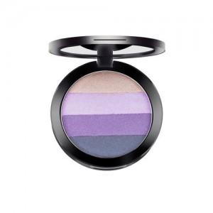 GlamGals GalmGals Purple & Gold-Toned Quattro Eyeshadow