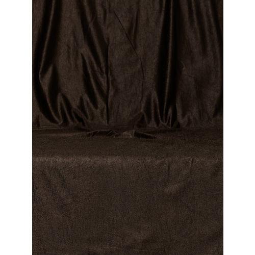 Cortina Coffee Brown Single Long Door Curtain